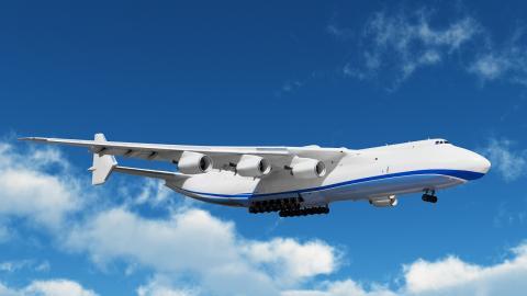 An-225 Mriya el avión más grande del mundo