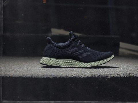The Adidas Futurecraft 4D shoe.
