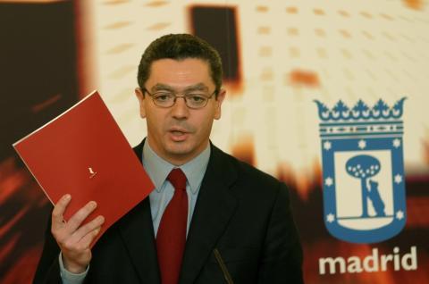 Alberto Ruiz-Gallardón, exalcalde de Madrid.