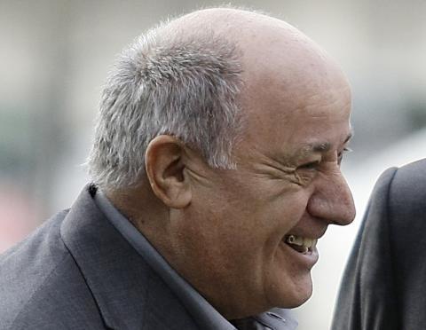 Amancio Ortega, accionista mayoritario de Inditex.