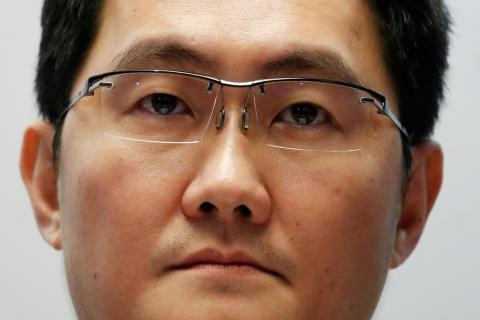 El CEO de Tencent Pony Ma.