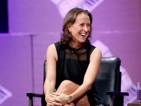 Anne Wojcicki, cofundadora y directora de 23andMe.