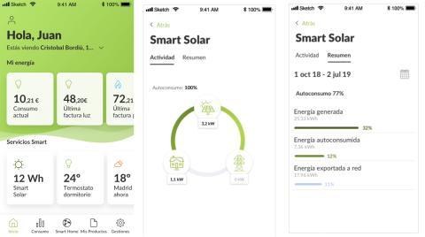 Así es la aplicación Smart Solar de Iberdrola
