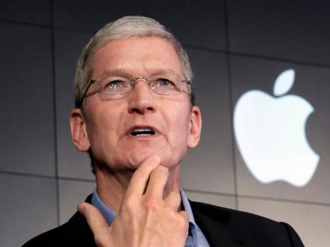 Apple CEO Tim Cook follows a routine that starts with a 3:45 a.m. wake-up.
