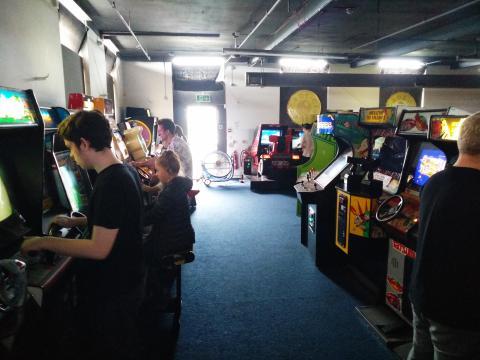 Arcade Club aforo