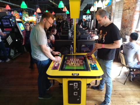 Arcade Club, donde los adultos vuelven a ser niiños