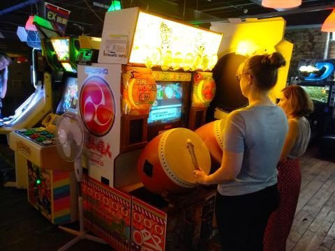 Arcade Club máquinas orientales