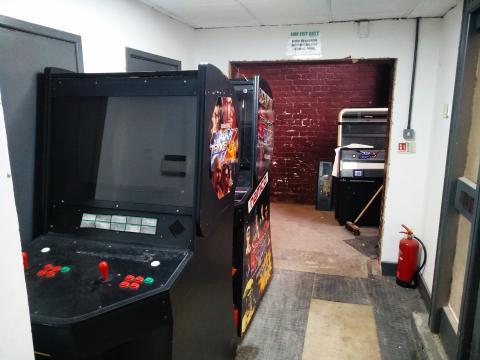 Arcade Club máquinas sin uso