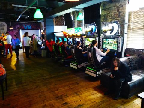Arcades de conducir