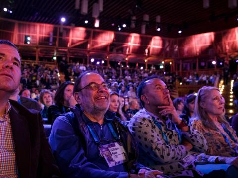 audiencia TED Talk