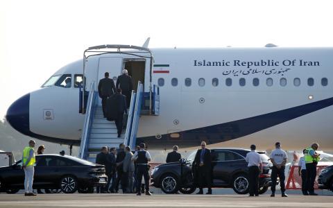 Un avión iraní aterriza en Biarritz durante la cumbre del G7.