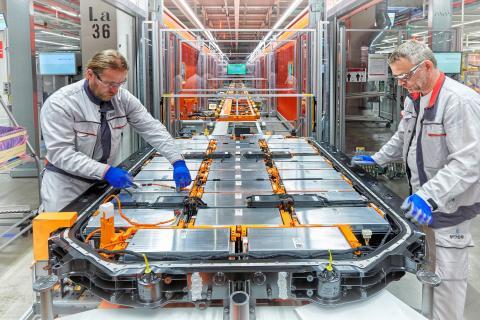 Baterías Audi e-tron