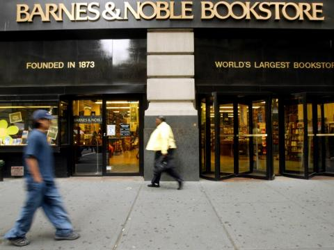 Barnes and Noble on Fifth Avenue in 2005.