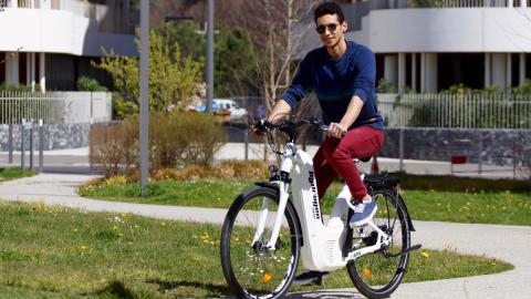 Bicicleta hidrógeno Pragma Industries