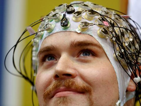 Interfaces de ordenador controladas con el cerebro.