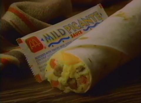 Burritos McDonald's