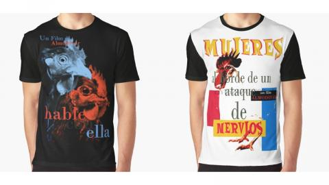 Camisetas Almodóvar AliExpress