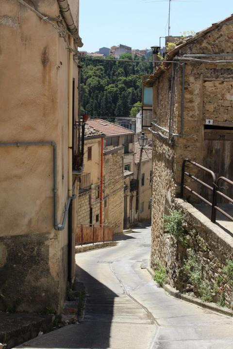 Cammarata's town councilors told me that many young people, especially with families, were deterred from living in the town because of the tiny, winding roads, which were nigh on impossible to get a car around. Instead, they lived
