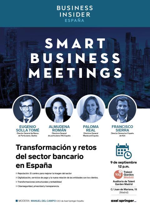 Cartel completo III Smart Business Meeting