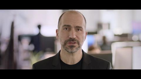 El CEO de Uber Dara Khosrowshahi