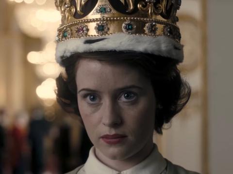 Claire Foy interpreta a la reina Isabel en The Crown