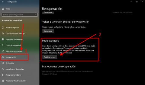 Cómo acceder al modo seguro en Windows 10
