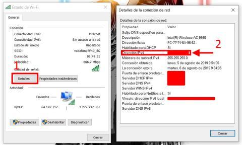 Cómo averiguar la IP en Windows 10