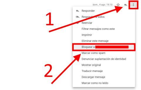 Cómo bloquear direcciones de correo electrónico en Gmail