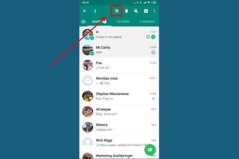 Cómo fijar conversaciones de WhatsApp en Android e iPhone