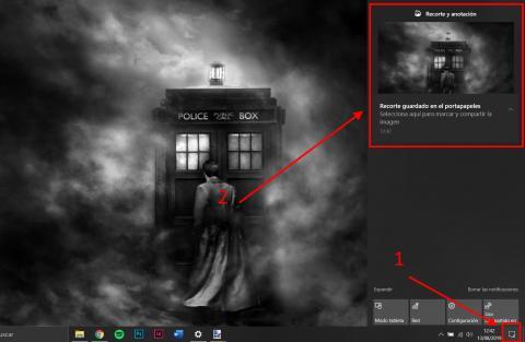 Cómo hacer una captura de pantalla de una zona concreta en Windows 10