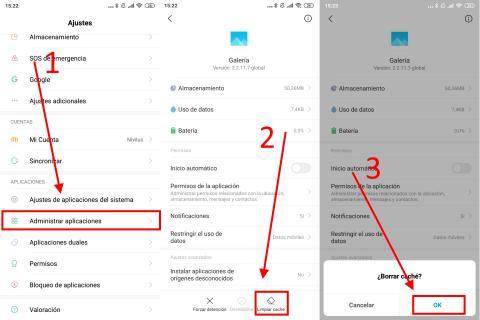 Cómo mejorar la velocidad en Android borrando el caché de las aplicaciones