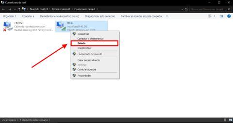 Cómo saber la IP en Windows 10