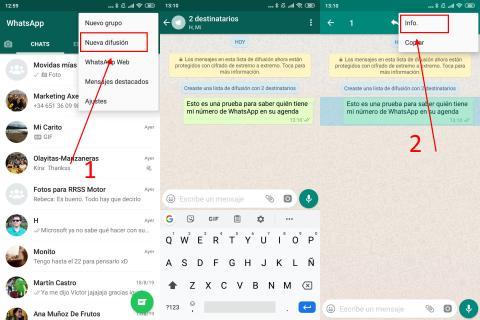 Cómo saber quién tiene tu número de WhatsApp