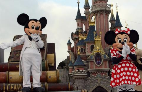 Disneyland en Orlando, EE.UU.
