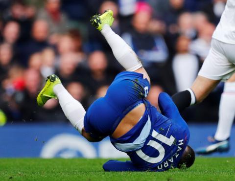 Hazard, exfutbolista del Chelsea y actual jugador del Real Madrid