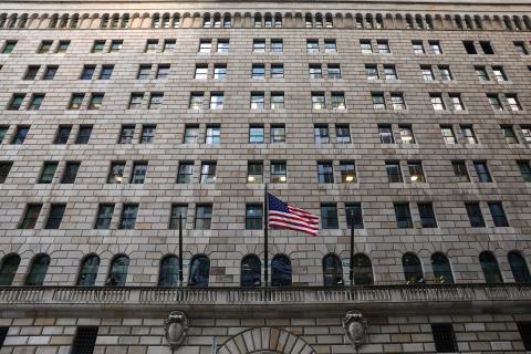 El edificio de la Reserva Federal del Banco de Nueva York.