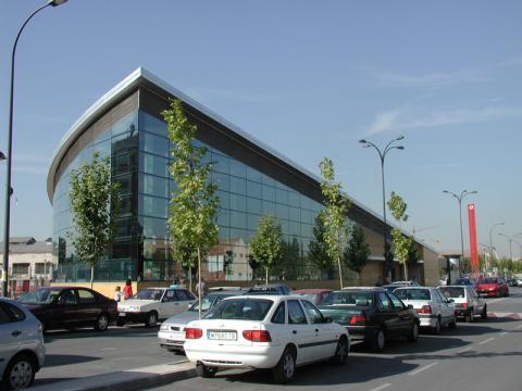 Estación de Cercanías en Getafe (Comunidad de Madrid)