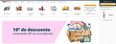exclusivasofertas de Amazon Pantry.