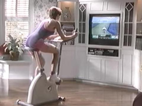 Bicicleta estática con juegos de Nintendo: desde 1.899 a 2.683 dólares