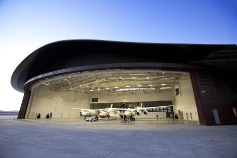 Uno de los fastuosos aeródromos del complejo
