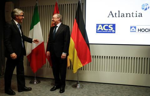 Florentino Pérez recibe al jefe ejecutivo de Atlantia.