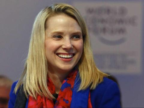 Marissa Mayer served as the CEO of Yahoo from 2012 to 2017.
