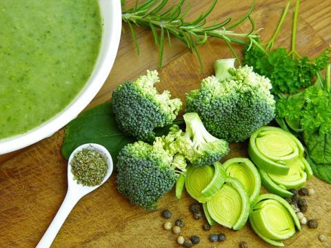 Frutas, verduras y alimentos que contienen magnesio