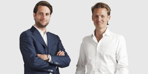 Los fundadores de Klarna, Sebastian Siemiatkowski y Niklas Adalberth.