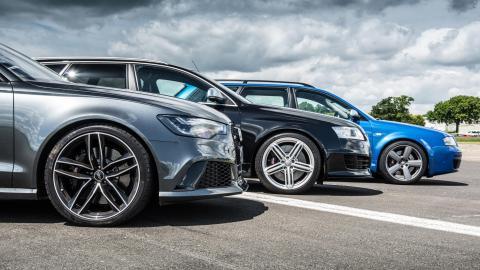 Generaciones del Audi RS6