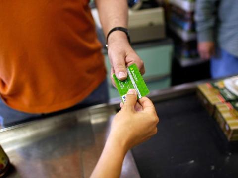 Get a cash-back rewards credit card