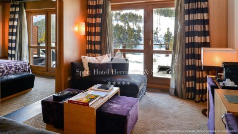 El hotel Hermitage de más de 5 estrellas en Andorra.