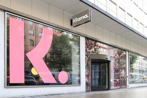 Una imagen de las oficinas de Klarna.