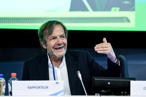 Javier Doz, consejero del Comité Económico y Social Europeo