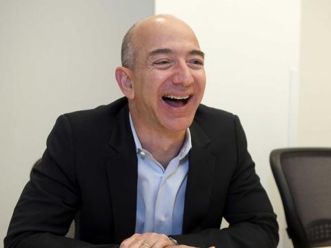 Jeff Bezos, fundador, CEO y presidente de Amazon.